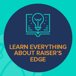 The Learn Everything program encompasses Blackbaud's most comprehensive set of Raiser's Edge training resources.