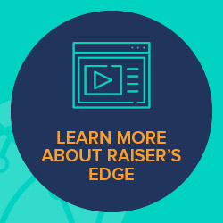 Blackbaud's Learn More program offers helpful Raiser's Edge training resources, including role-based classes and certifications.