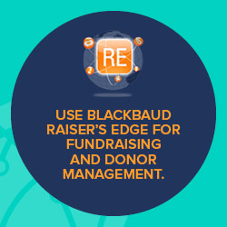 Blackbaud Raiser's Edge has built-in fundraising functionality and was designed for nonprofits, unlike Salesforce.