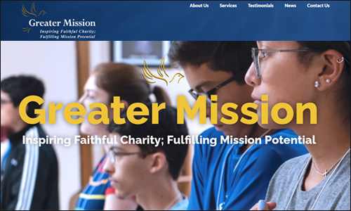 Greater Mission is a top nonprofit consulting firm that specializes in religious organizations and Catholic charities.