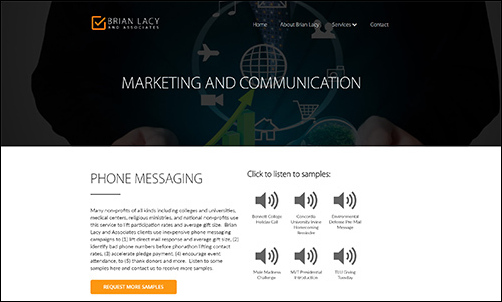 Work with Brian Lacy nonprofit consulting firm to bolster your marketing.