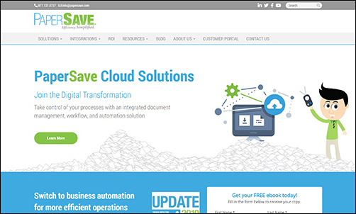Work with PaperSave to streamline how your nonprofit handles all its internal tasks.