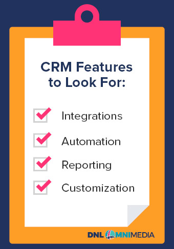 These are the key CRM features to look for to improve your nonprofit database management.