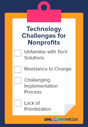 Explore the following tech challenges associated with nonprofit technology.