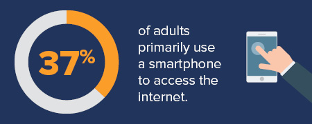 Ensure your nonprofit technology is mobile accessible.