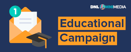 Educational campaigns are one type of nonprofit email marketing.