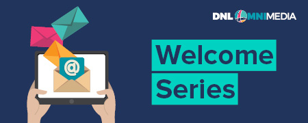 A welcome series is a common type of nonprofit email marketing campaigns.