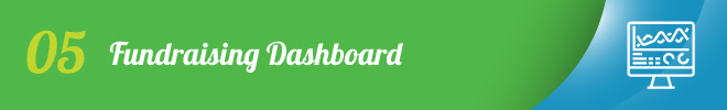 Use your fundraising dashboard for successful fundraising while social distancing.