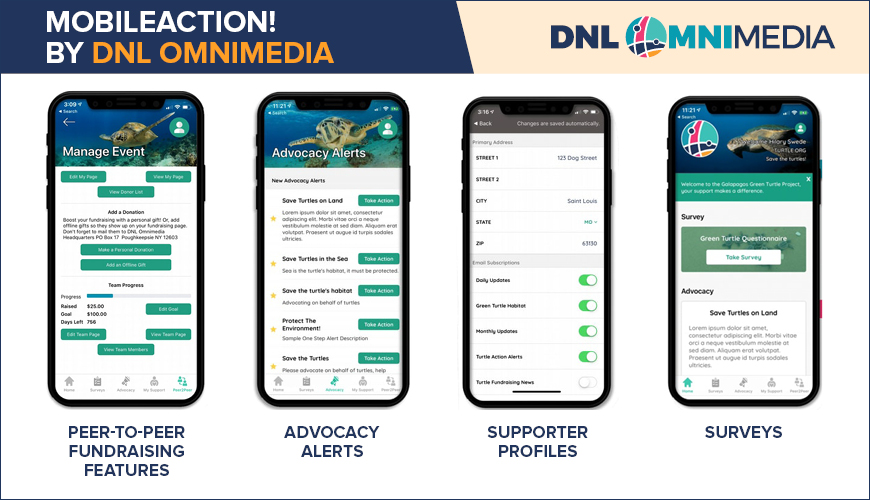 If you're interested in apps for nonprofits, consider MobileAction!