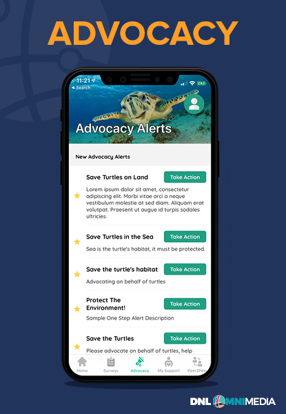 Advocacy is a key function of MobileAction!.