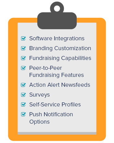 Use this checklist to help guide your research of apps for nonprofits.