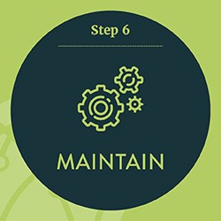 Step 6. Maintain your nonprofit technology solution over time.