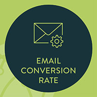 Your nonprofit's email conversion rate will show you how effective your email campaigns are for turning recipients into donors, volunteers, or advocates.