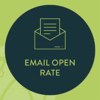 Include your email open rate in your nonprofit data analysis strategy to gain insight into your marketing efforts.