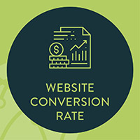 Website conversion rate is one of the most important analytics for nonprofits to measure, as it can directly show you how engaging your site is.
